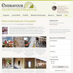 Sustainable and Natural Building Courses and Workshops at The Endeavour Centre
