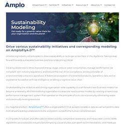 Sustainablity Modeling - Amplo Global Inc.