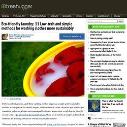 Eco-Friendly Laundry: 11 Low-Tech & Simple Methods
