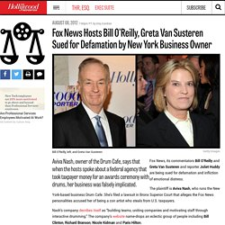Fox News Hosts Bill O'Reilly, Greta Van Susteren Sued for Defamation by New York Business Owner