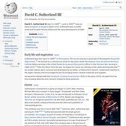 David C. Sutherland III
