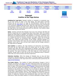 Yoga Sutras of Patanjali - Biography Info of Patanjali