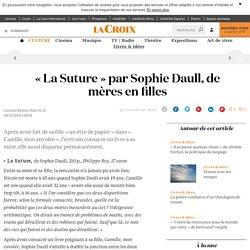 La Suture (La Croix)