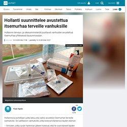 Hollanti suunnittelee avustettua itsemurhaa terveille vanhuksille