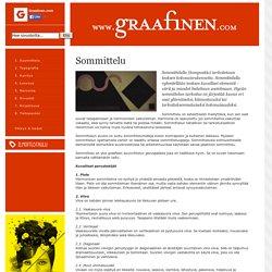Sommittelu « Graafinen suunnittelu – tietoa, ideoita ja työkaluja graafiselle suunnittelijalle