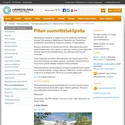 www.hameenlinna.fi - Pihan suunnittelukilpailu