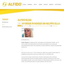 Hyvässä ryhdissä on helppo olla - Alfido Kuopio