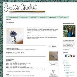 Suvi's Crochet: Cornflower