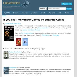 If you like The Hunger Games by Suzanne Collins