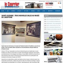 Sainte-Suzanne : Trois nouvelles salles au musée de l'Auditoire