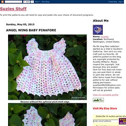 ANGEL WING BABY PINAFORE
