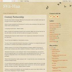 SVa-Haa: Century Partnership