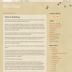 SVa-Haa: Nation Building