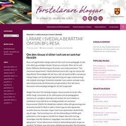 Lärare i Svedala berättar om sin BFL-resa
