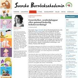 Svenska Barnboksakademin