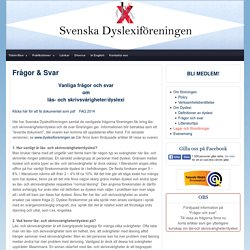 Svenska Dyslexiföreningen