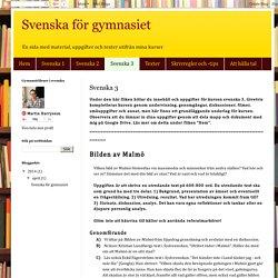 Svenska för gymnasiet: Svenska 3