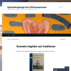 Svenska högtider och traditioner