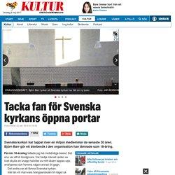 Svenska kyrkans öppna portar