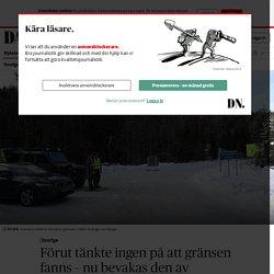 Svenska soldater på plats utmed norska gränsen