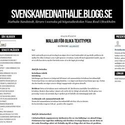 - svenskamednathalie.blogg.se