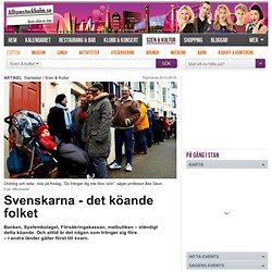 Svenskarna - det köande folket
