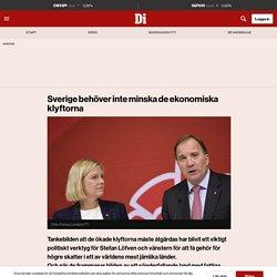 Sverige behöver inte minska de ekonomiska klyftorna