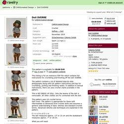 Doll SVERRE pattern by CAROcreated design