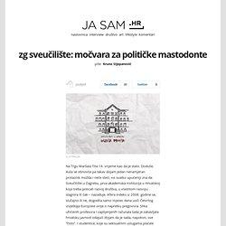 Sveučilište u Zagrebu: Močvara za političke mastodonte