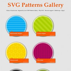 SVG Patterns Gallery
