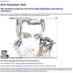 SVG Textorizer Tool