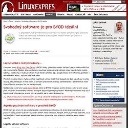 Svobodný software je pro BYOD ideální