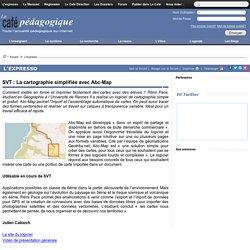 SVT : La cartographie simplifiée avec Abc-Map