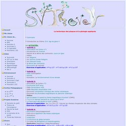 Svt4ever - 1S.Thème Géologie