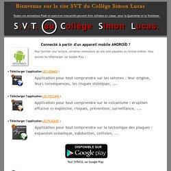 SVToCSL : Animations Flash utilisées en SVT au Collège Simon Lucas