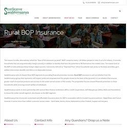 Best assurance in rural bop, Rural lending service