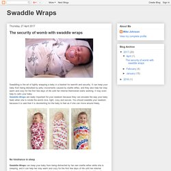 Swaddle Wraps: The security of womb with swaddle wraps