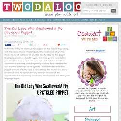 The Old Lady Who Swallowed a Fly: Upcycled Puppet - Twodaloo