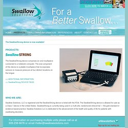 SwallowStrong Device - Patients with Swallowing Disorders