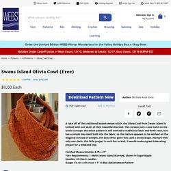 Swans Island Olivia Cowl (Free) at WEBS