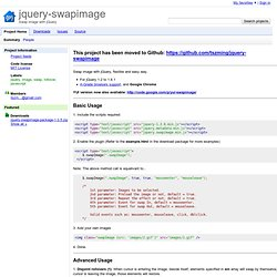 jquery-swapimage - Project Hosting on Google Code