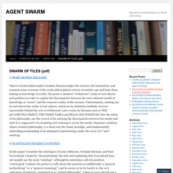 SWARM OF FILES (pdf)