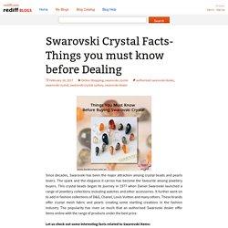 Choose Authorized Swarovski Dealer