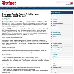 Buy Swarovski Crystal Sydney Online From Beads Venue