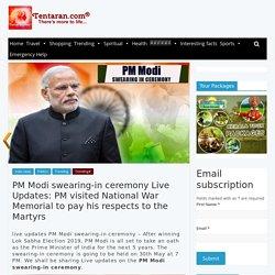 PM Modi swearing-in ceremony