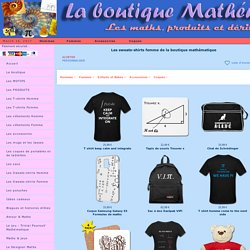 Sweat shirt math, sweat maths, pull maths