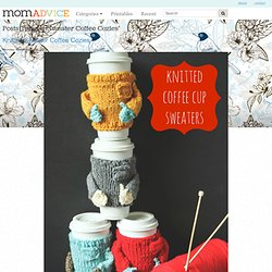 Sweater Coffee Cozies