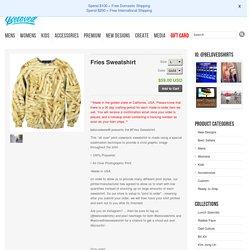 Crewneck Sweaters: Shop Fries Sweatshirt from Belovedshirts