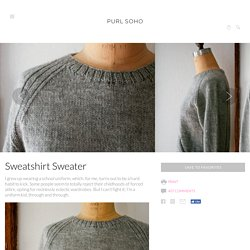Sweatshirt Sweater