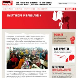 Sweatshops in Bangladesh